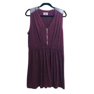 Converse All Star Burgundy Stretch Dress Size XL